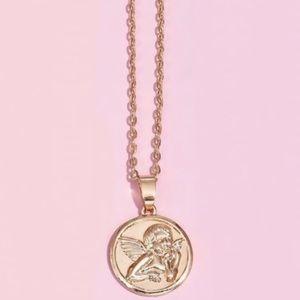 3 / $30 Cherub Angel Necklace